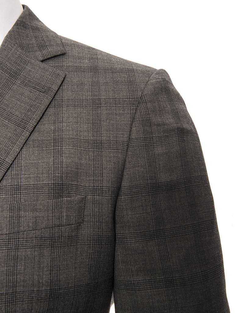Not Your Father's Suit Not Your Father's Suit Charcoal Check Modern Suit  (42119)