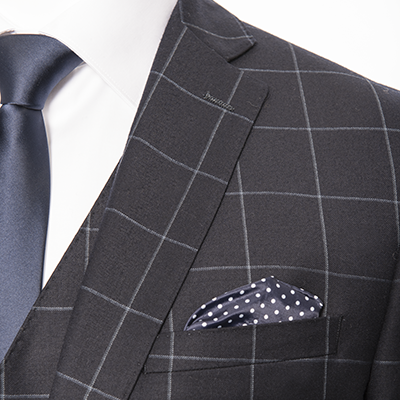 Suits by L'HEXAGONE Menswear