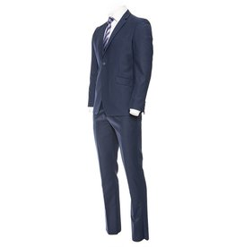 Royal Blue Slim Suit by Dellahaye London Collection