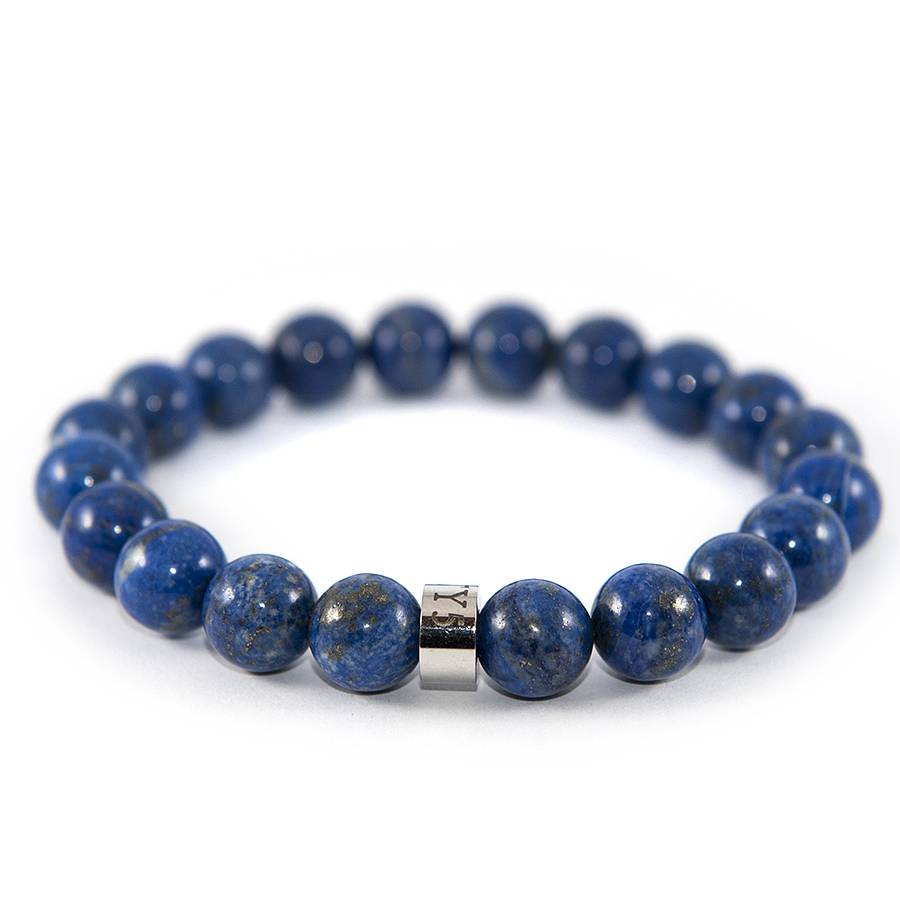 11 FORTY5 11 FORTY5 - Lapis Lazuli - Bracelet - 10mm