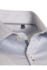 Matinique Matinique Slim Fit Shirt - White with Blue Dots (30201875)