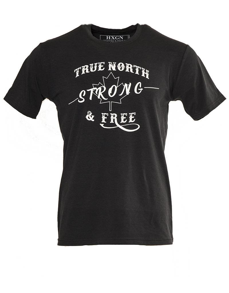 HXGN - True North Strong & Free - Bamboo Stretch Slim Fit T-Shirt
