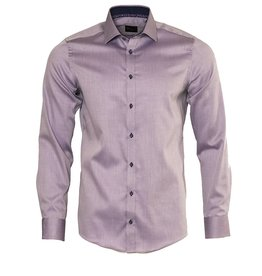 Venti Venti Lilac Slim Fit Dress Shirt (172661800)