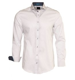 Venti Venti White Cutaway Collar Dress Shirt - (172667200)