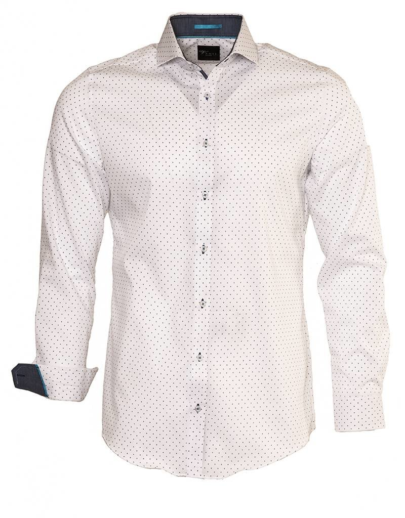 Venti Venti White Cutaway Collar Dress Shirt - (172667200)