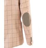 Tallia Tallia Pink Window Pane Sport Jacket (TKX0228)