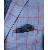 Tallia Tallia Blue Sport Jacket with Red Window Pane (TKX0238)