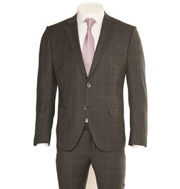 Not Your Father's Suit Grey Window Pane Suit (54099)