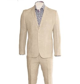 Delahaye London Collection Slim Fit Linen Suit (1010-8)