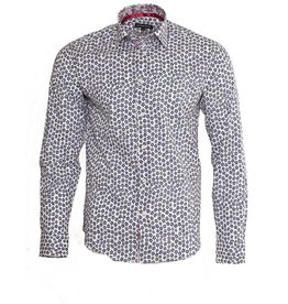 IZAC 4 MEN Summer Flowers Shirt (83255-1)