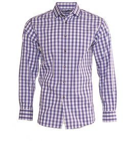 Polifroni BLU BLU by Polifroni Purple Fitted Shirt