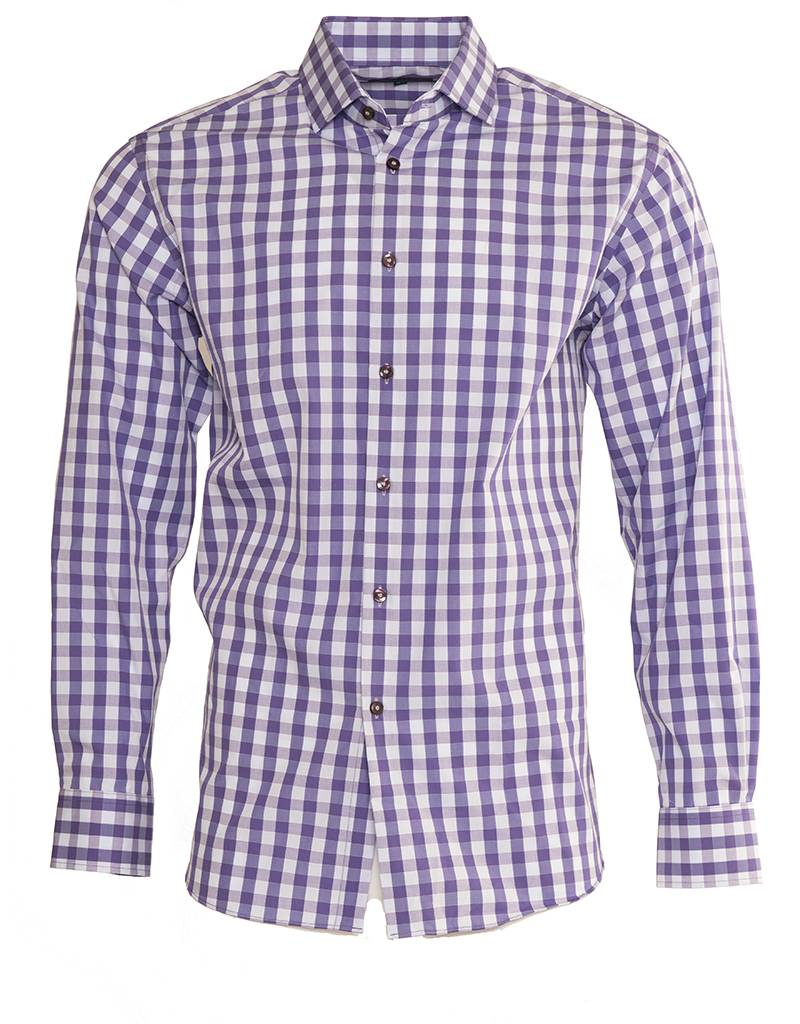 Polifroni BLU Polifroni BLU Purple Fitted Shirt (G1745206)