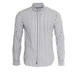 Matinique Matinique Trostol Blue Stripe Summer Shirt (30201643)