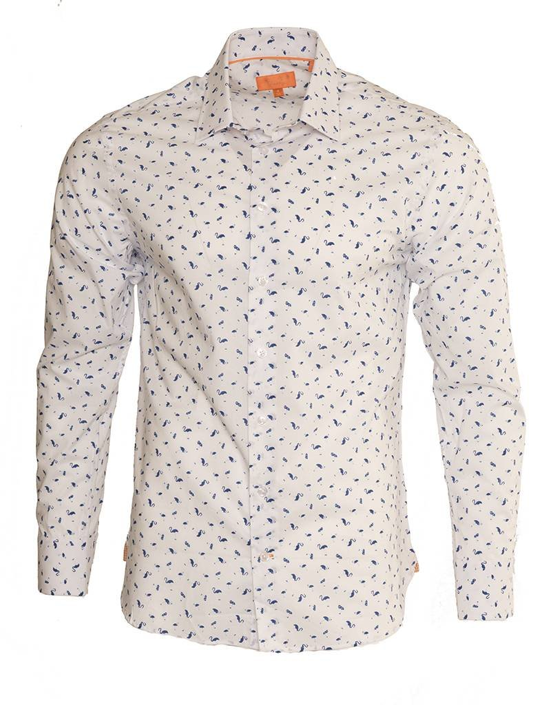 Tallia Tallia Flamingo Summer Shirt (T6527)