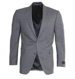Paul Betenly Paul Betenly Blue Check Sandro Sport Jacket  (271027)