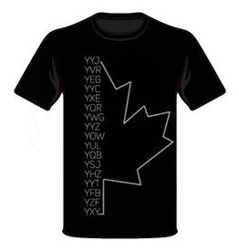 HXGN = Canada Airport Codes T-Shirt