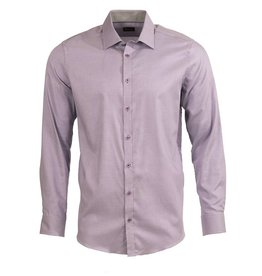 Venti Venti Fitted Purple Dress Shirt