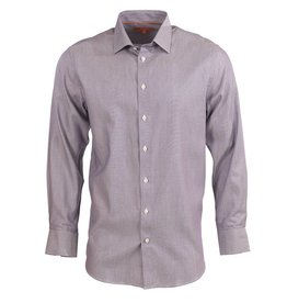 Tallia Tallia Casual Shirt in Purple Micro-Check