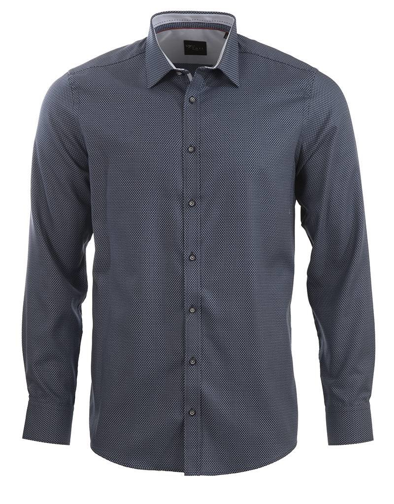Venti Venti Blue on Blue Shirt (172810100)