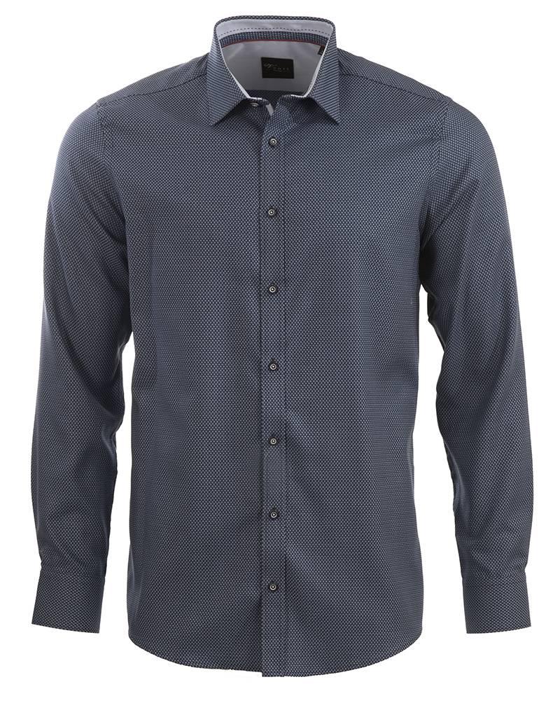 Venti Venti Blue on Blue Shirt (172810100)