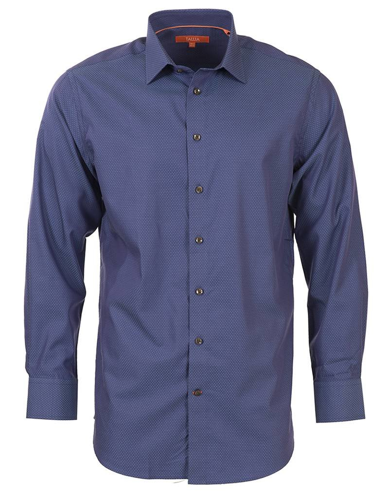 Tallia Tallia - Bright Blue Fall Shirt (T7506)