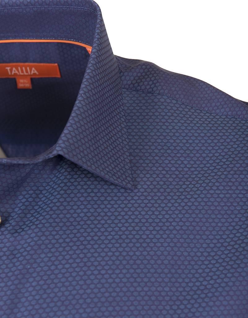 Tallia Tallia - Bright Blue Fall Shirt (T7506)