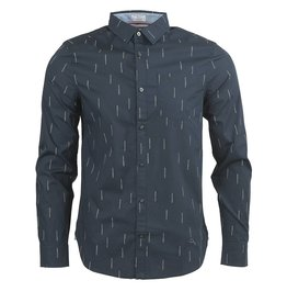 Original Penguin Original Penguin - Stretch Fit Shirt in Navy