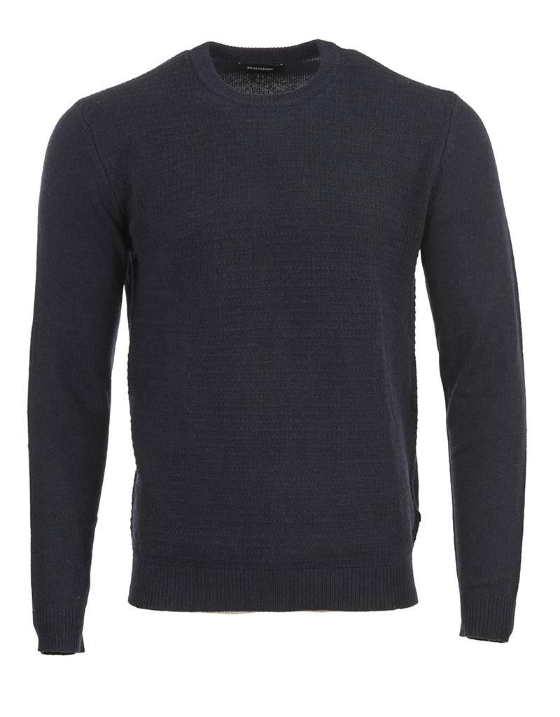 Matinique Matinique - Triton Sweater in Navy or Wine (30202241)
