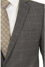 L'HABIT L'HABIT - Slim Fit Grey Window Pane (Z4626020054)