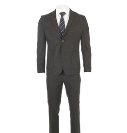 Delahaye London Collection Delahaye - Heavy Wool Charcoal Slim Suit