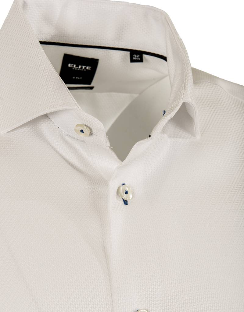 Elite by Serica Elite by Serica - White Woven Shirt (E17-55055)