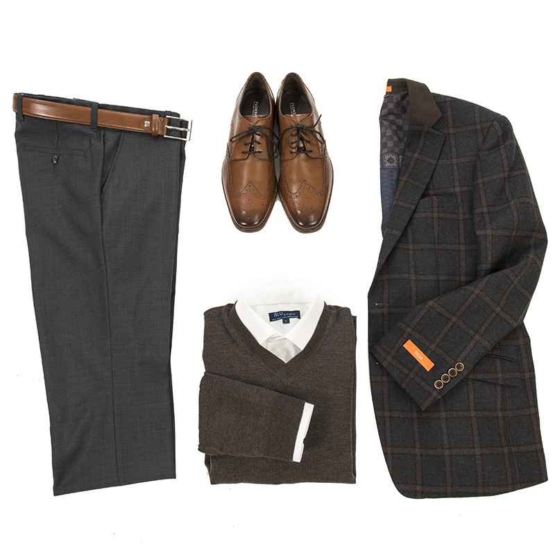 Office Casual for Men - Style Board - L'HEXAGONE Menswear