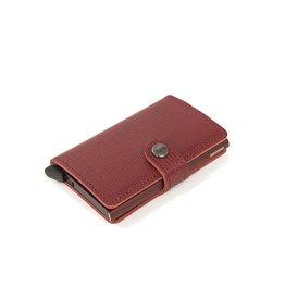 Secrid Secrid - Bordeaux Leather Wallet