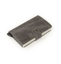 Secrid Secrid Leather Wallet - Vintage Grey