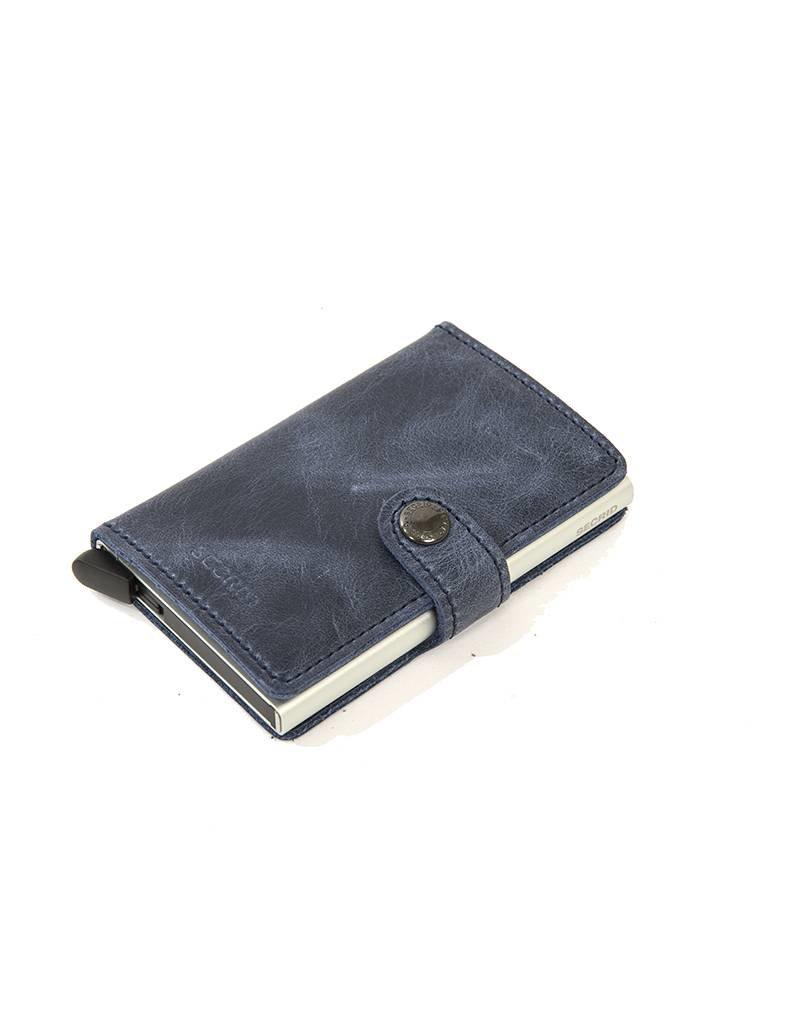 Secrid Secrid Leather Wallet - Vintage Blue - M -