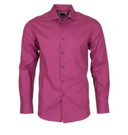 Elite by Serica Elite by Serica - Pink Check Fitted Shirt