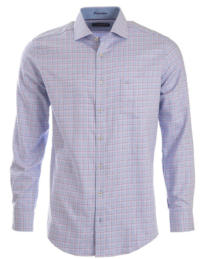 CASAMODA CASAMODA - Blue Woven Shirt - 382914900