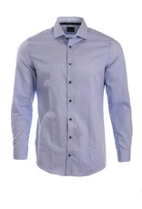 Venti Venti - Purple & Navy Woven Shirt - 182914500