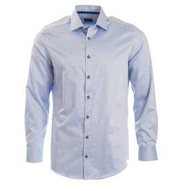 Venti Venti - Blue Micro-Pattern Shirt