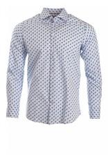Tallia Tallia - Blue Flamingo Shirt - T8071D
