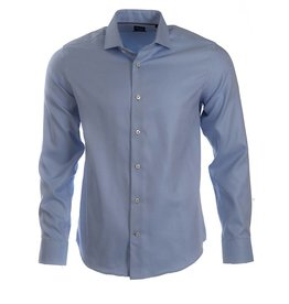 Elite by Serica Elite - Blue Dobby Shirt