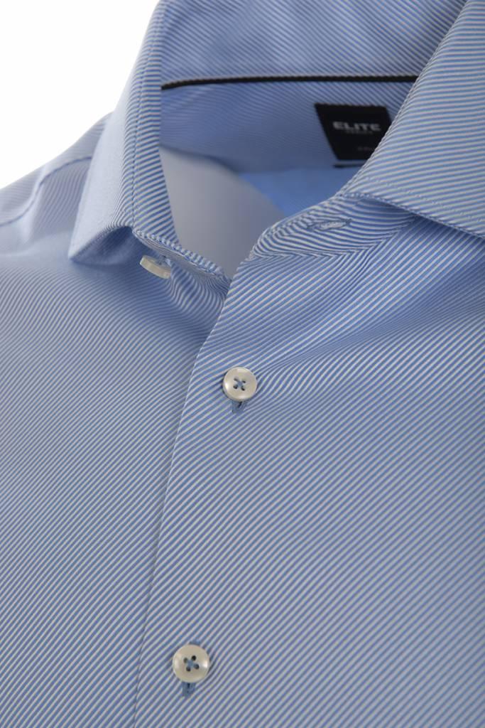 Elite by Serica Elite - Blue Dobby Shirt - E18-57005