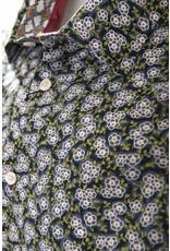 IZAC & ADAM IZAC & ADAM - Navy & Green Flowers - Paolito 2 - MSL177-1