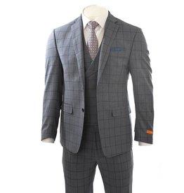 Tallia Tallia - Window Pane 3 PCS Suit