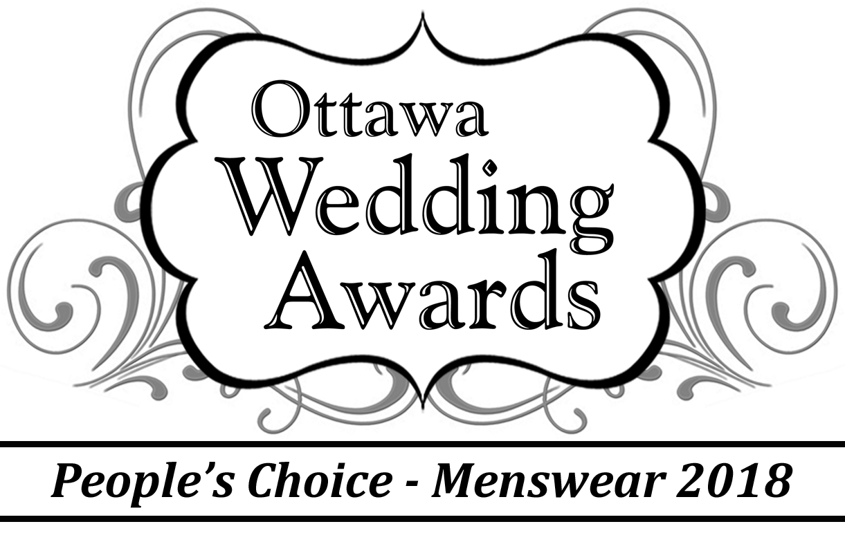 Ottawa Wedding Awards Menswear L'HEXAGONE