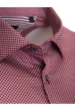 Matinique Matinique - Burgundy Micro-print - Shirt - 30203066