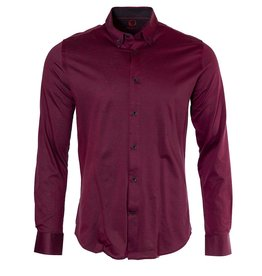 Marco Marco - Stretch Jersey Shirt - Red