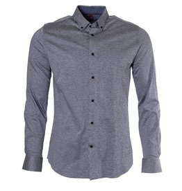 Marco Marco - Stretch Jersey Shirt - Grey