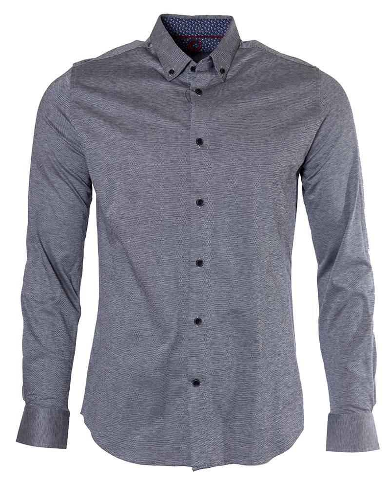 Marco Marco - Stretch Jersey Shirt - Grey - CH2366