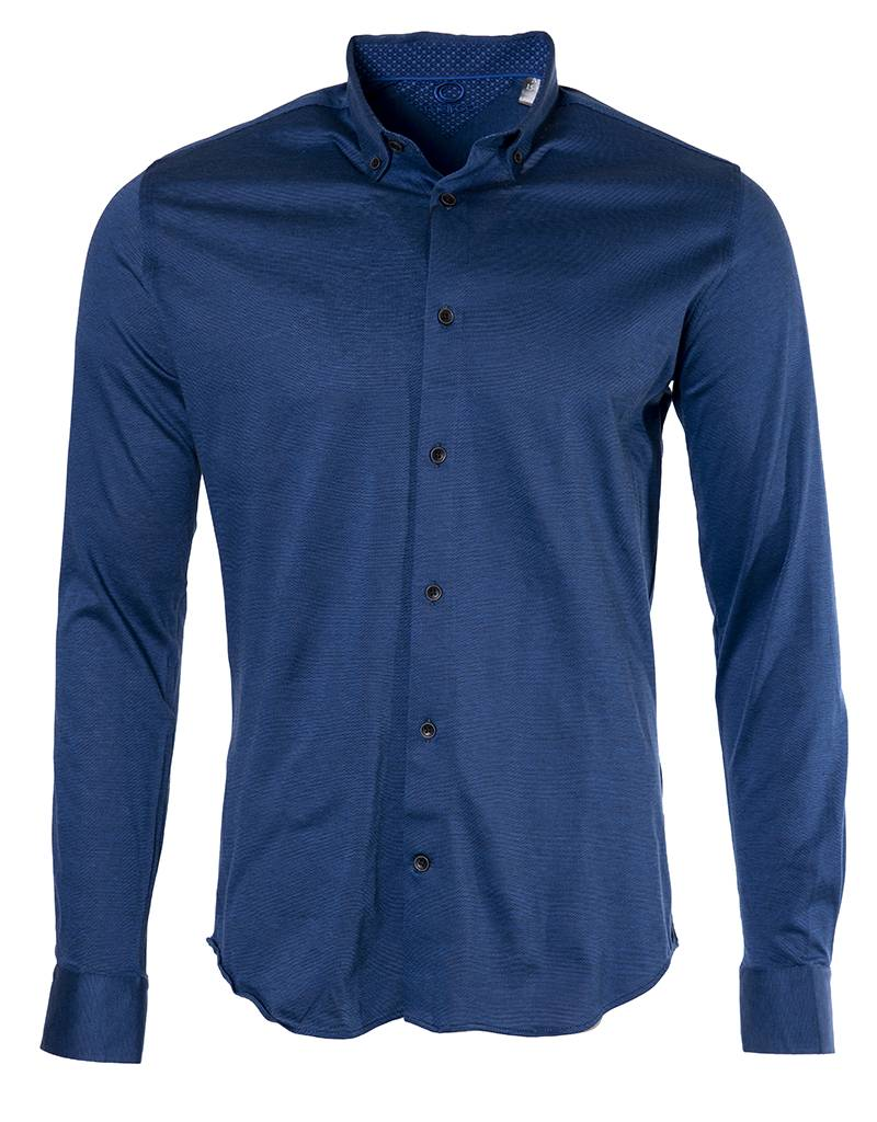 Marco Marco - Stretch Jersey Shirt - CH2366 - Blue